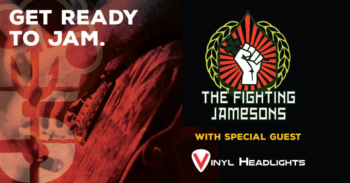 757 Battle of the Beers Music Lineup - The Fighting Jamesons and Vinyl Headlights